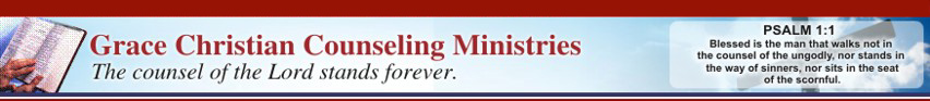 Welcome to Grace Christian Counseling Ministries